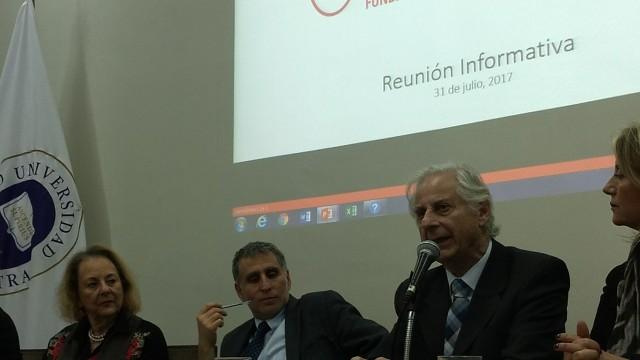Encuentro SCPC. Susana Ifland (SCPC), Dip Daniel Farcas y Giorgio Agostini (SCPC)